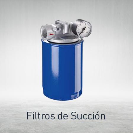 Filtros de succión