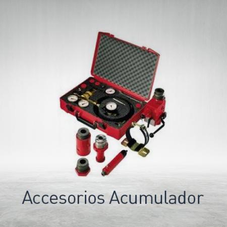 Accesorios de acumulador