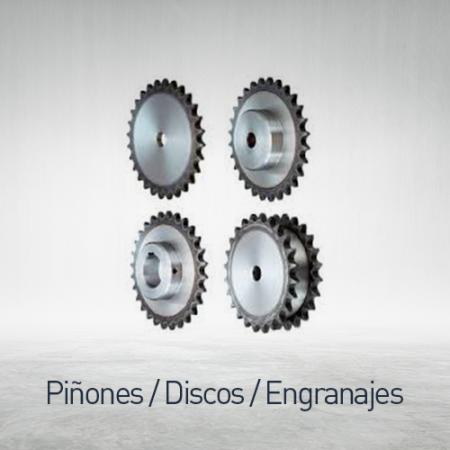 Piñones - discos - engranajes