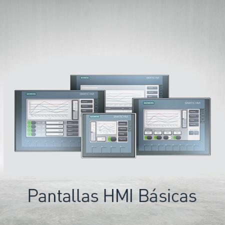 Pantallas HMI Básicas
