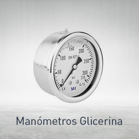 Manómetros glicerina