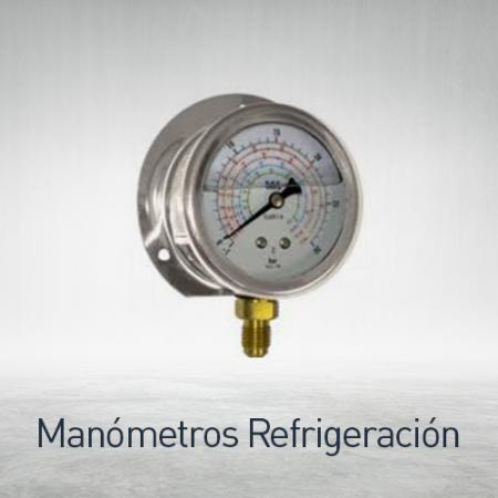 Manómetros para refrigeración