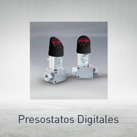 Presostatos digitales