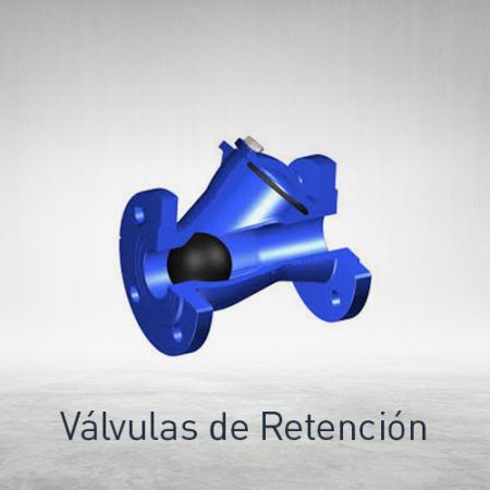 Válvulas de retención