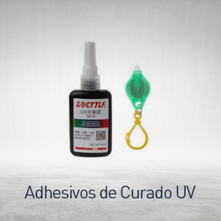 Adhesivos de curado UV