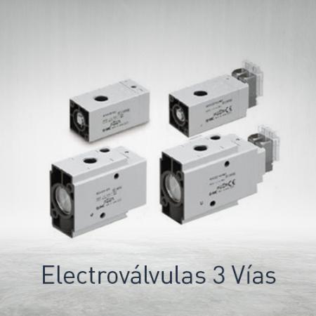 Electroválvulas 3 vías