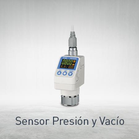 Sensores presión y vacío