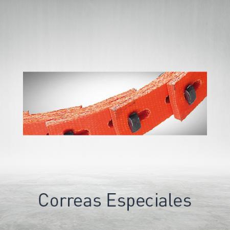 Correas especiales