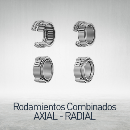Rodamientos combinados axial - radial