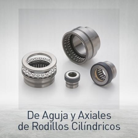 Rodamientos de agujas y axiales de rodillos cilíndricos