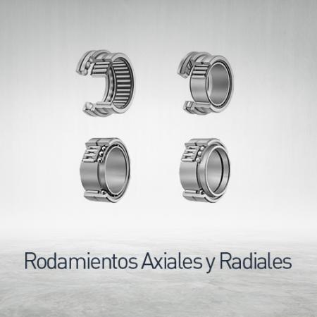 Rodamientos axiales y radiales
